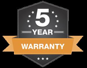 5yr-Warranty