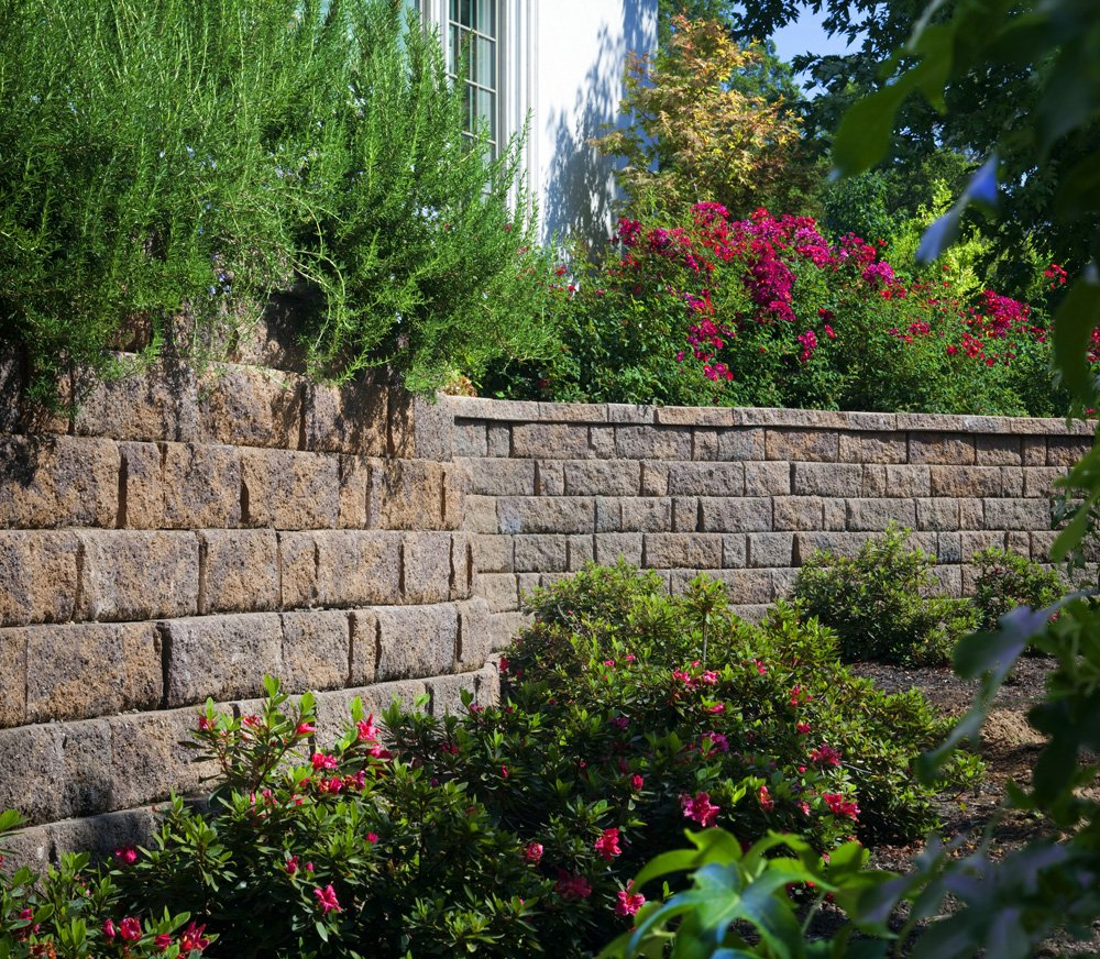 Image of a retaining wall in Richmond